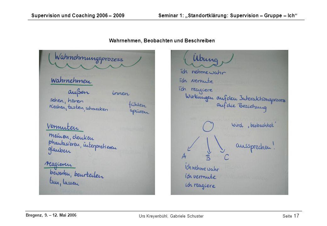 Urs Kreyenbühl, Gabriele Schuster