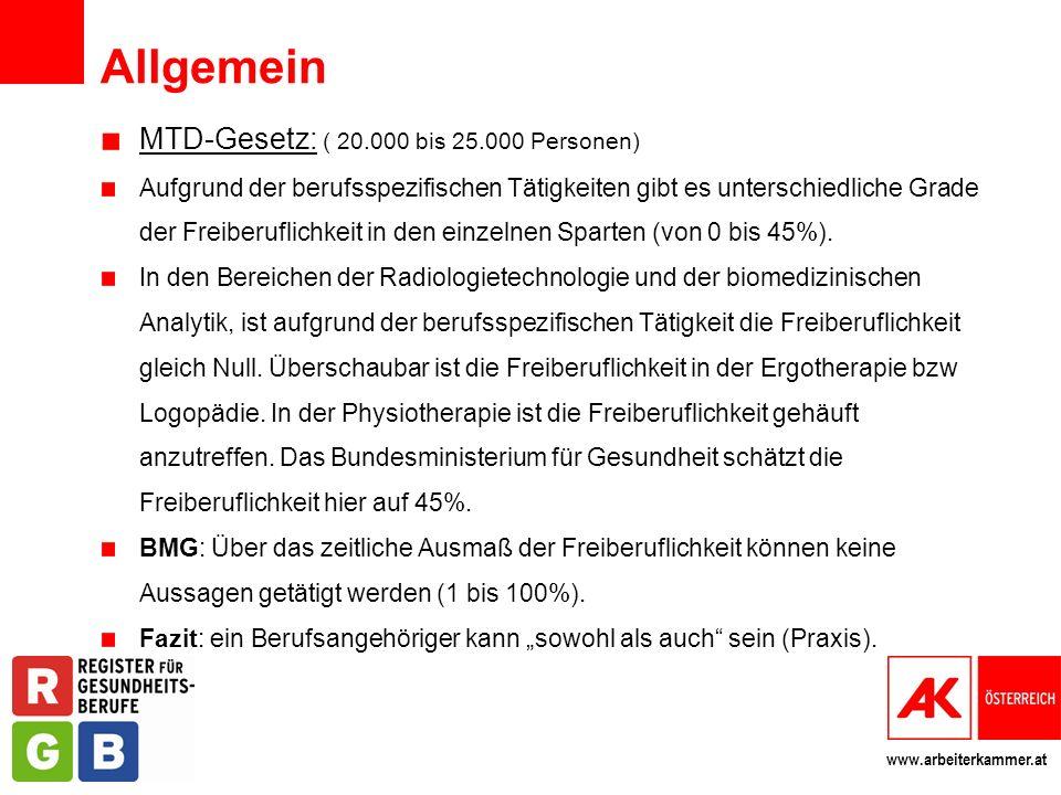Allgemein MTD-Gesetz: ( 20.000 bis 25.000 Personen)