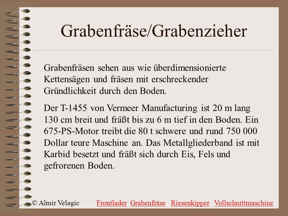 Grabenfräse/Grabenzieher
