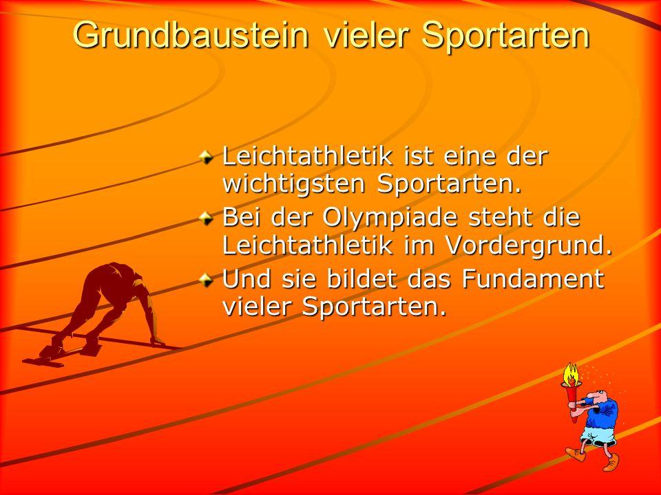 Grundbaustein vieler Sportarten