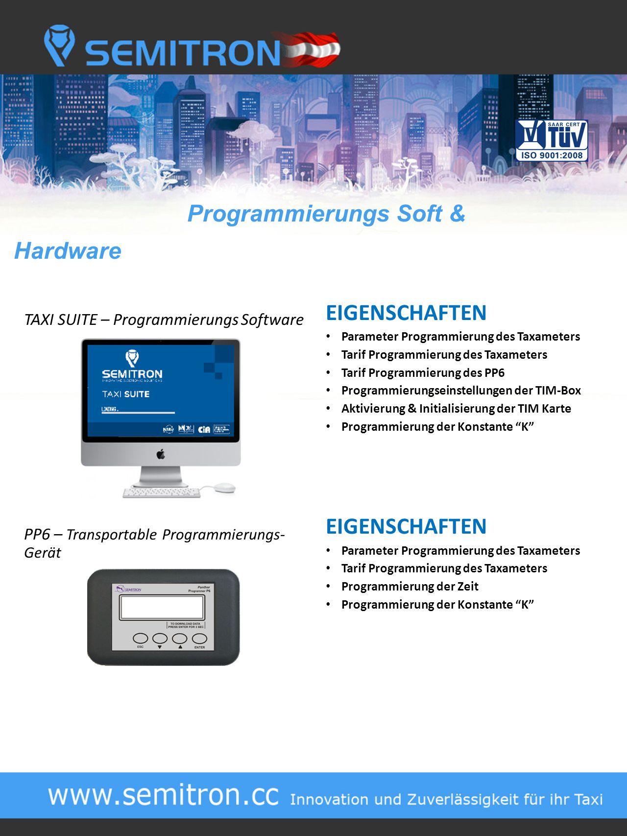 Programmierungs Soft & Hardware