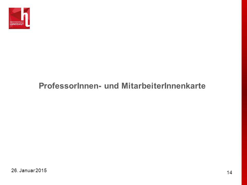 ProfessorInnen- und MitarbeiterInnenkarte