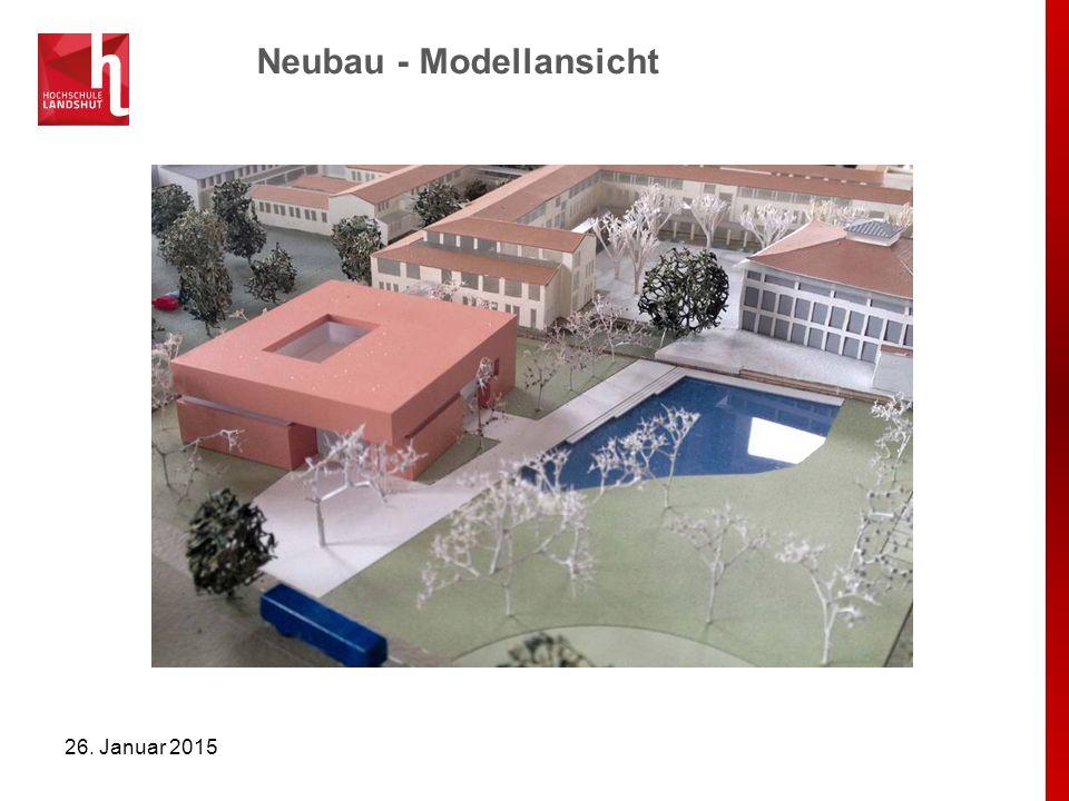 Neubau - Modellansicht