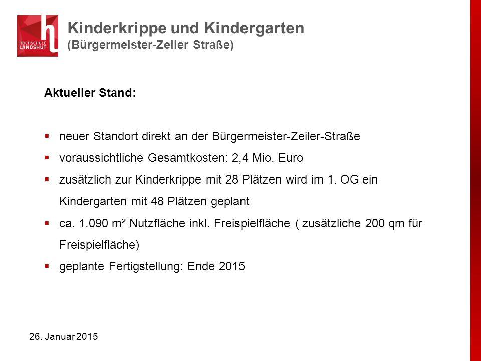 Kinderkrippe und Kindergarten (Bürgermeister-Zeiler Straße)