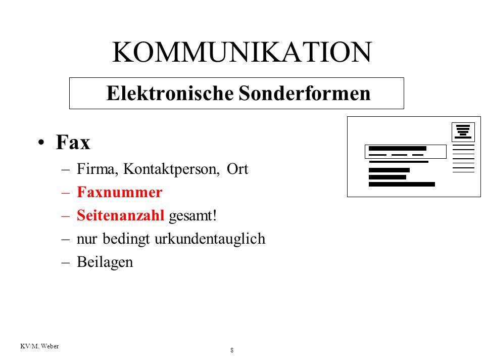 Elektronische Sonderformen