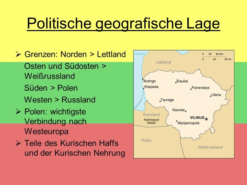 Politische geografische Lage