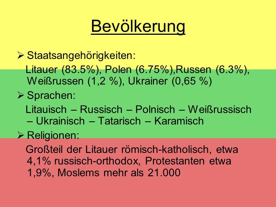 Bevölkerung Staatsangehörigkeiten: