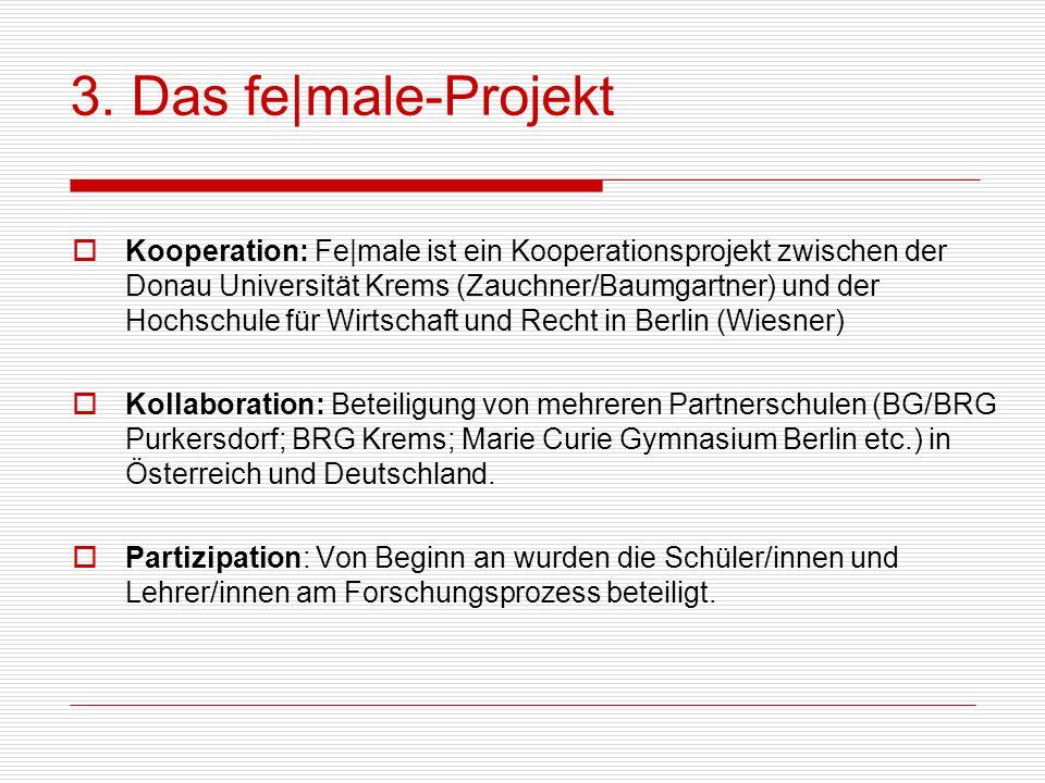 3. Das fe|male-Projekt