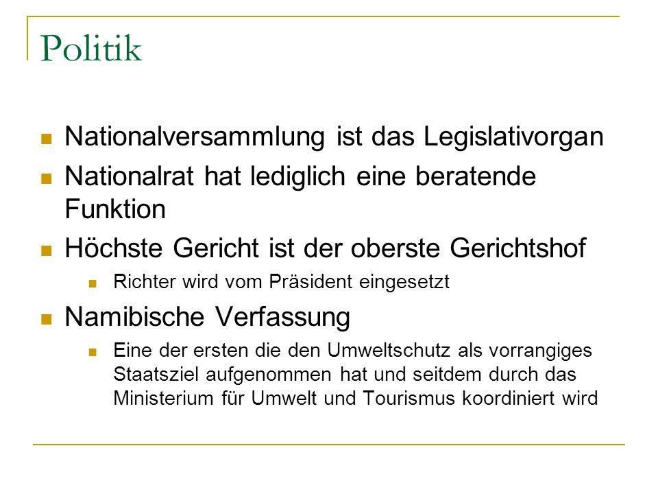 Politik Nationalversammlung ist das Legislativorgan