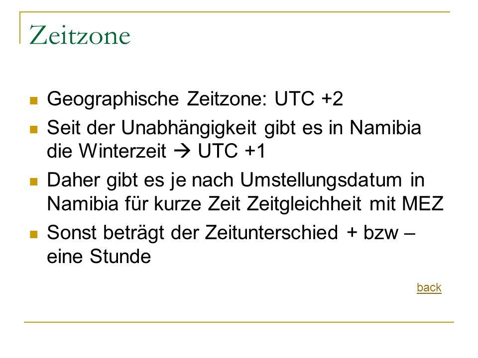 Zeitzone Geographische Zeitzone: UTC +2
