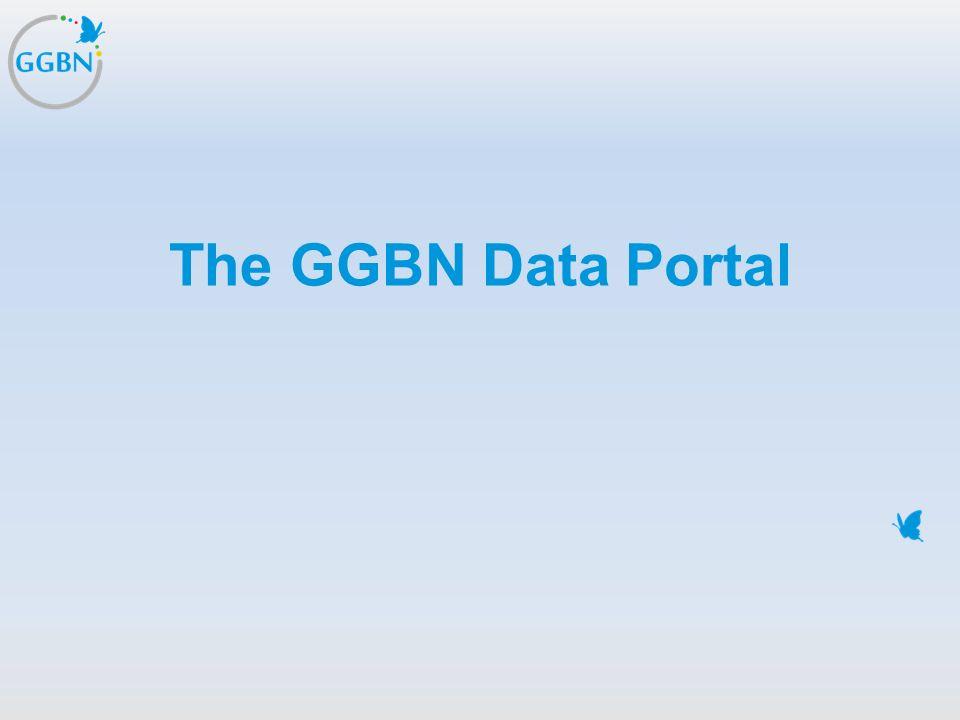 The GGBN Data Portal