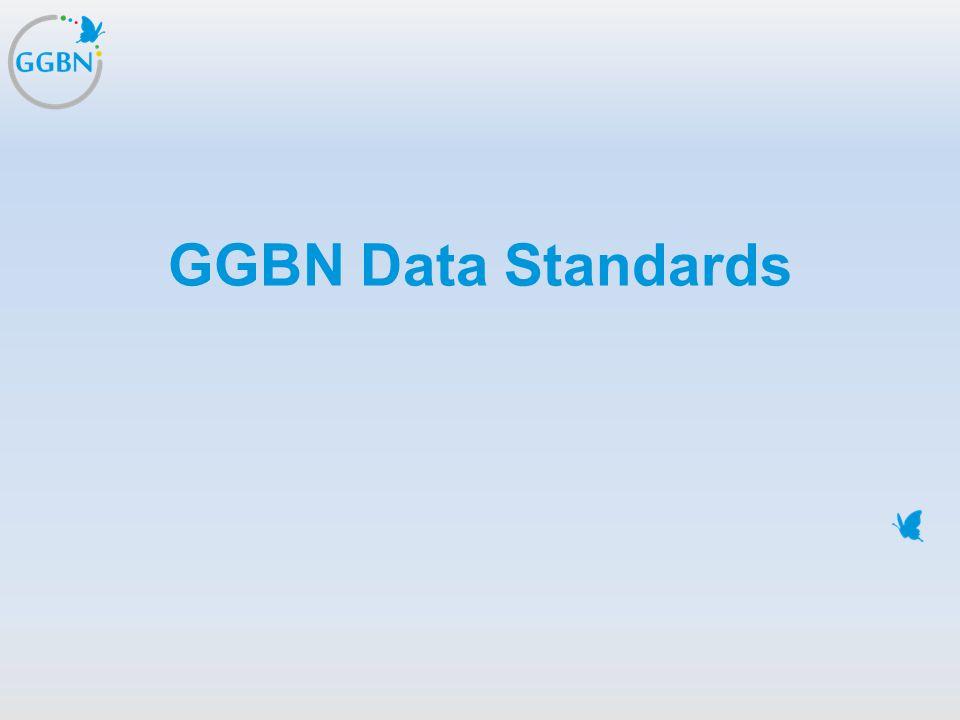 GGBN Data Standards