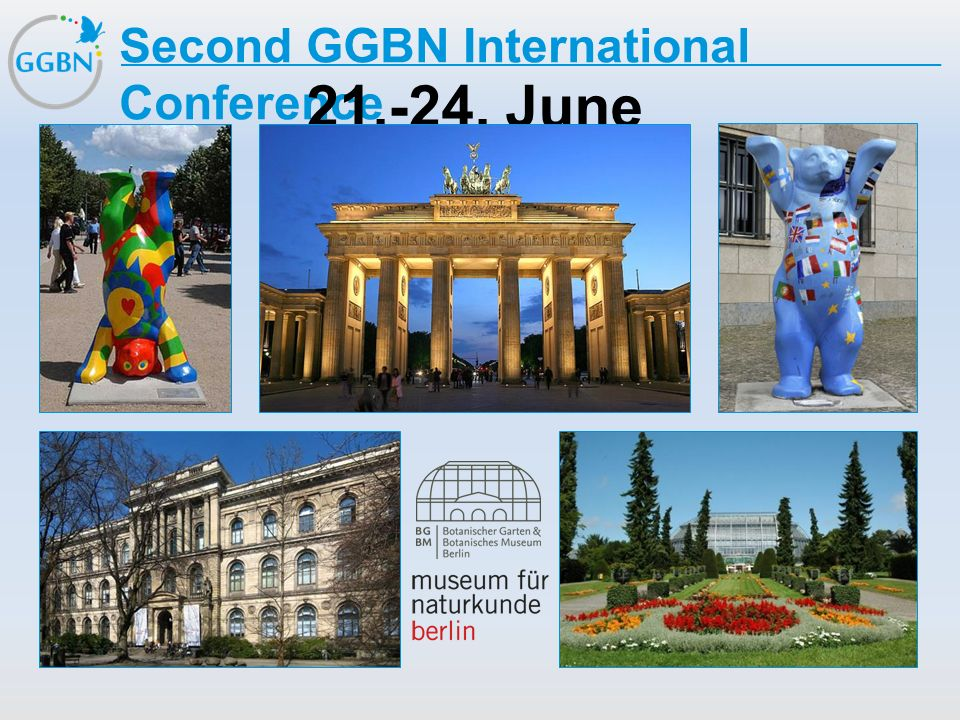 Second GGBN International Conference