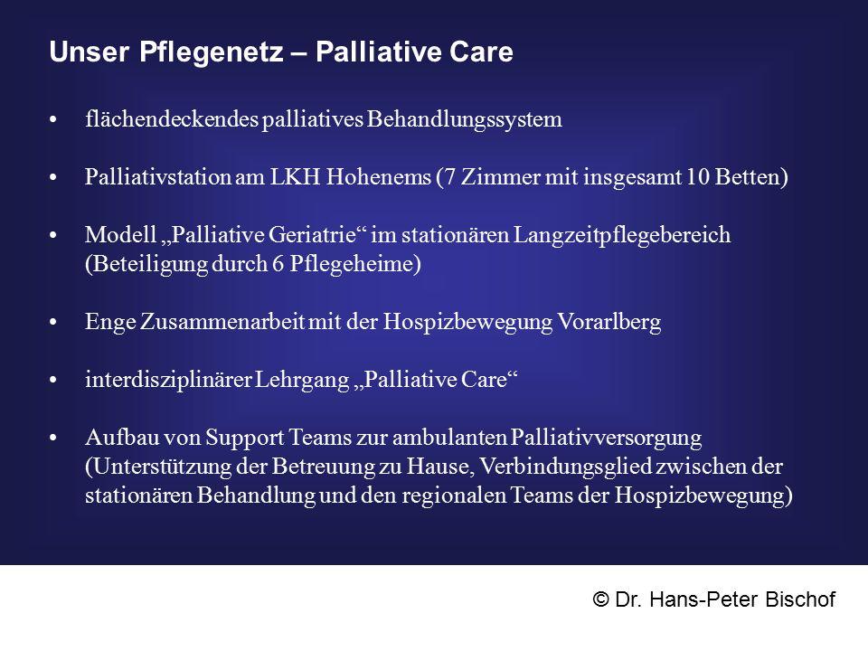 Unser Pflegenetz – Palliative Care