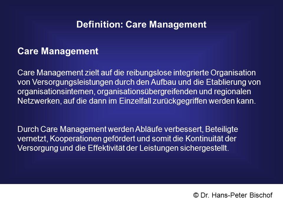 Definition: Care Management