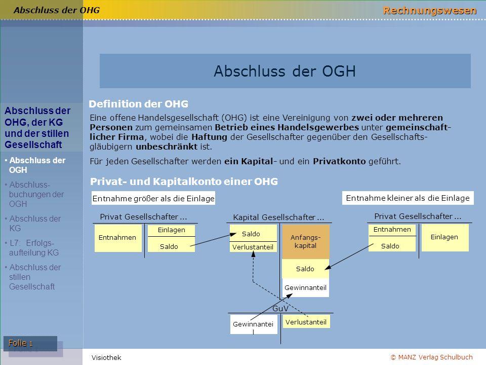 Abschluss der OGH Definition der OHG