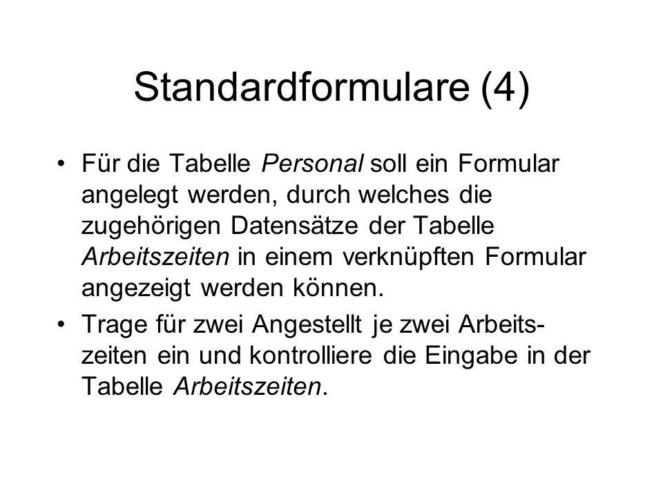 Standardformulare (4)