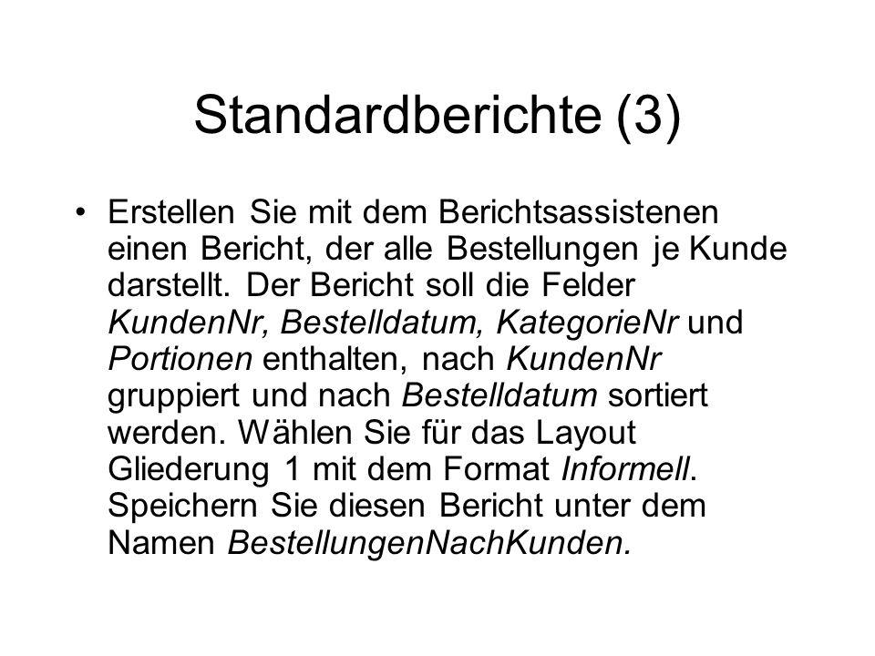 Standardberichte (3)