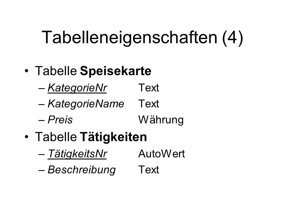 Tabelleneigenschaften (4)