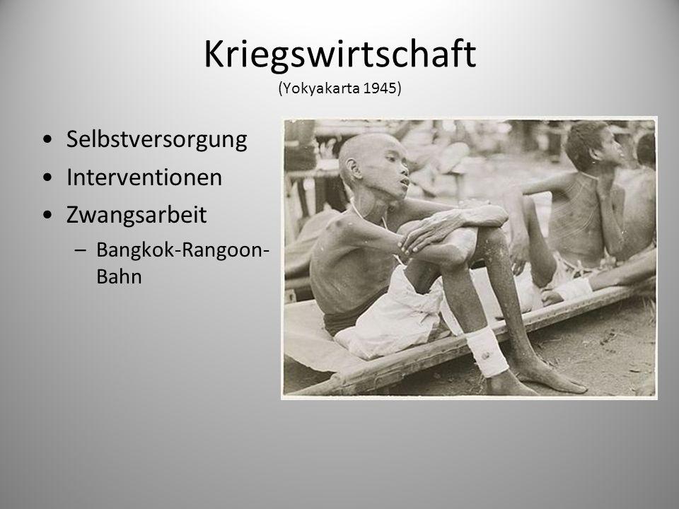 Kriegswirtschaft (Yokyakarta 1945)