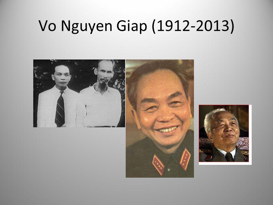 Vo Nguyen Giap (1912-2013)