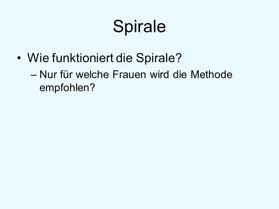 Spirale Wie funktioniert die Spirale