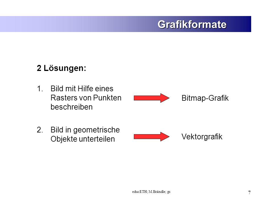 Grafikformate 2 Lösungen: