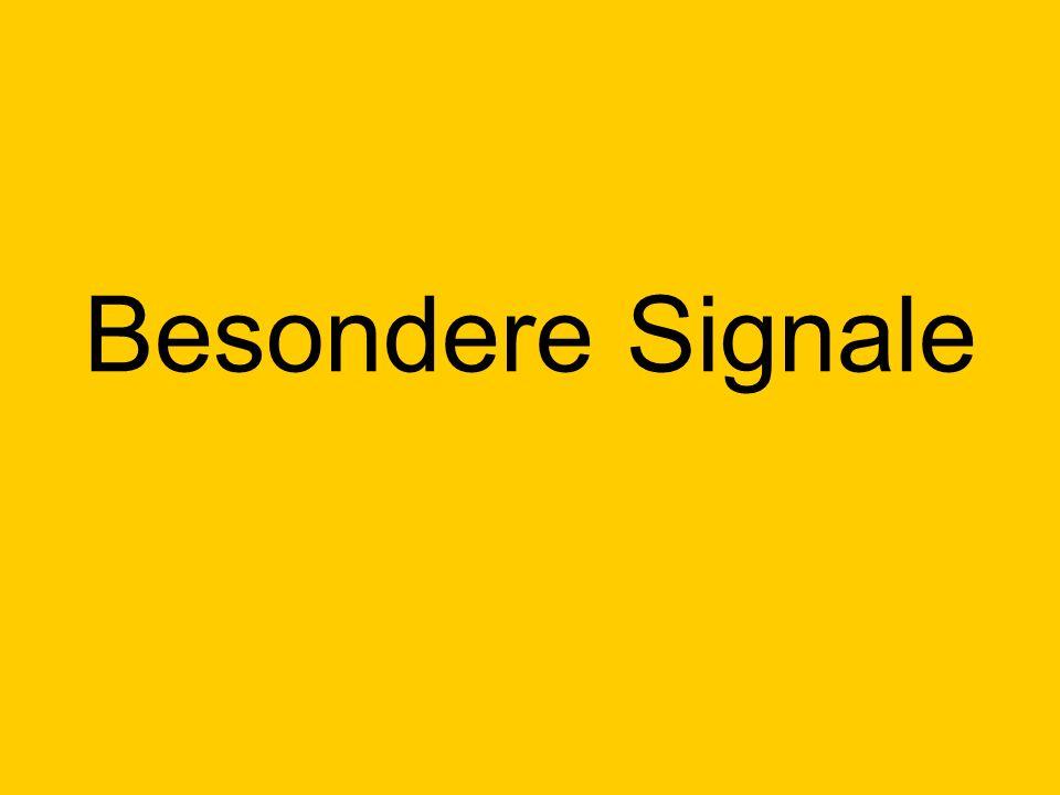 Besondere Signale