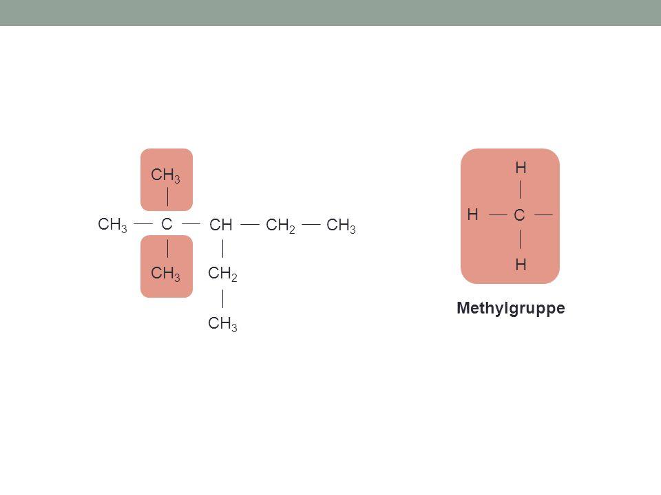 C H C CH CH2 CH3 Methylgruppe