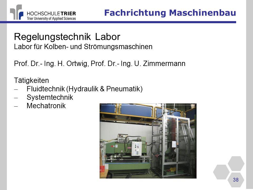 Regelungstechnik Labor