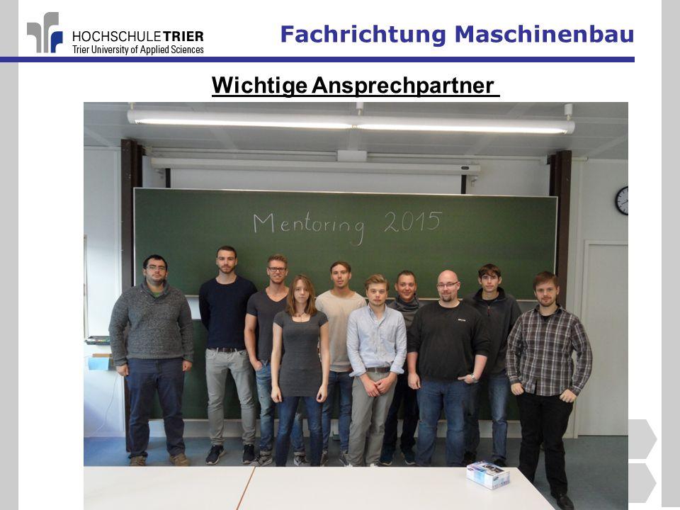 Fachrichtung Maschinenbau