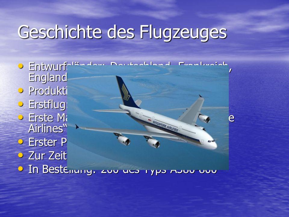 Geschichte des Flugzeuges