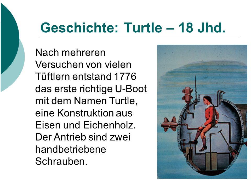 Geschichte: Turtle – 18 Jhd.