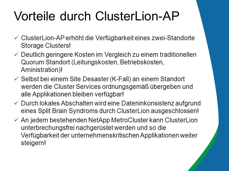 Vorteile durch ClusterLion-AP