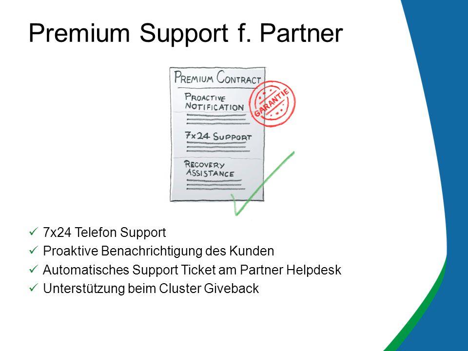 Premium Support f. Partner