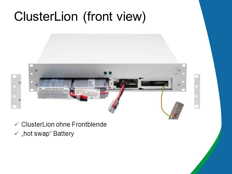 ClusterLion (front view)