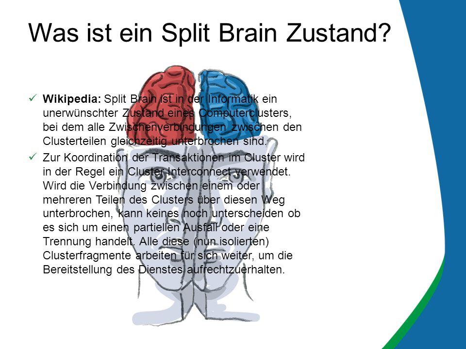 Was ist ein Split Brain Zustand
