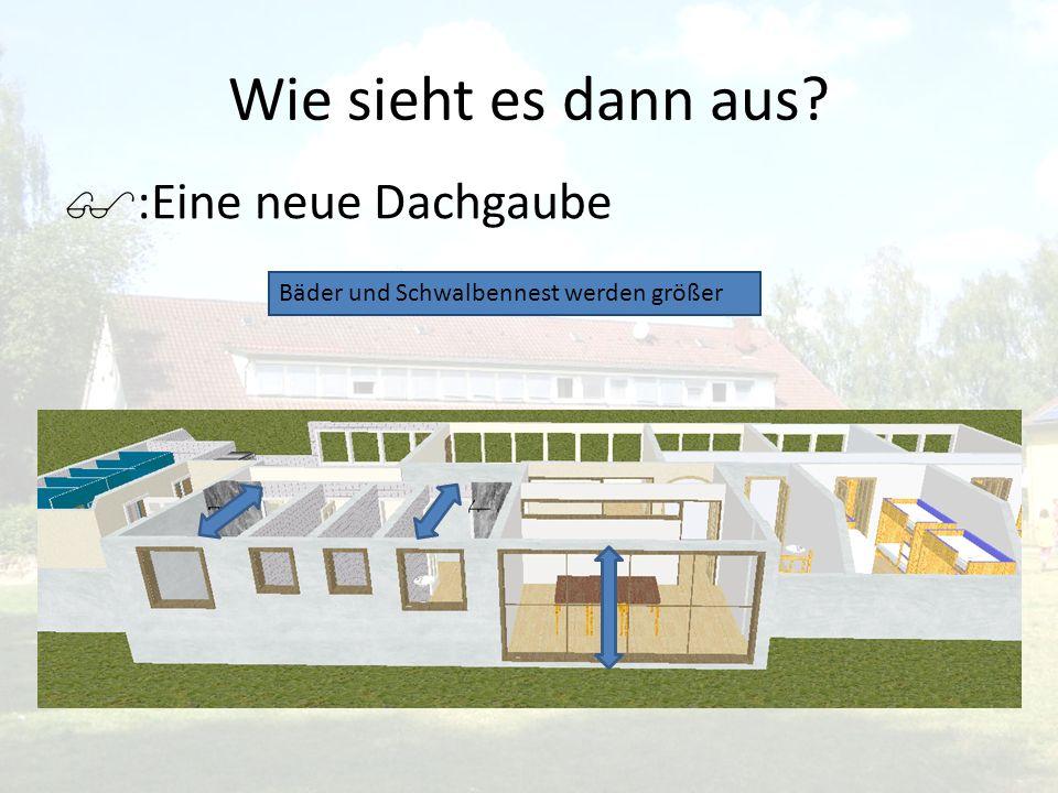 Wie sieht es dann aus :Eine neue Dachgaube