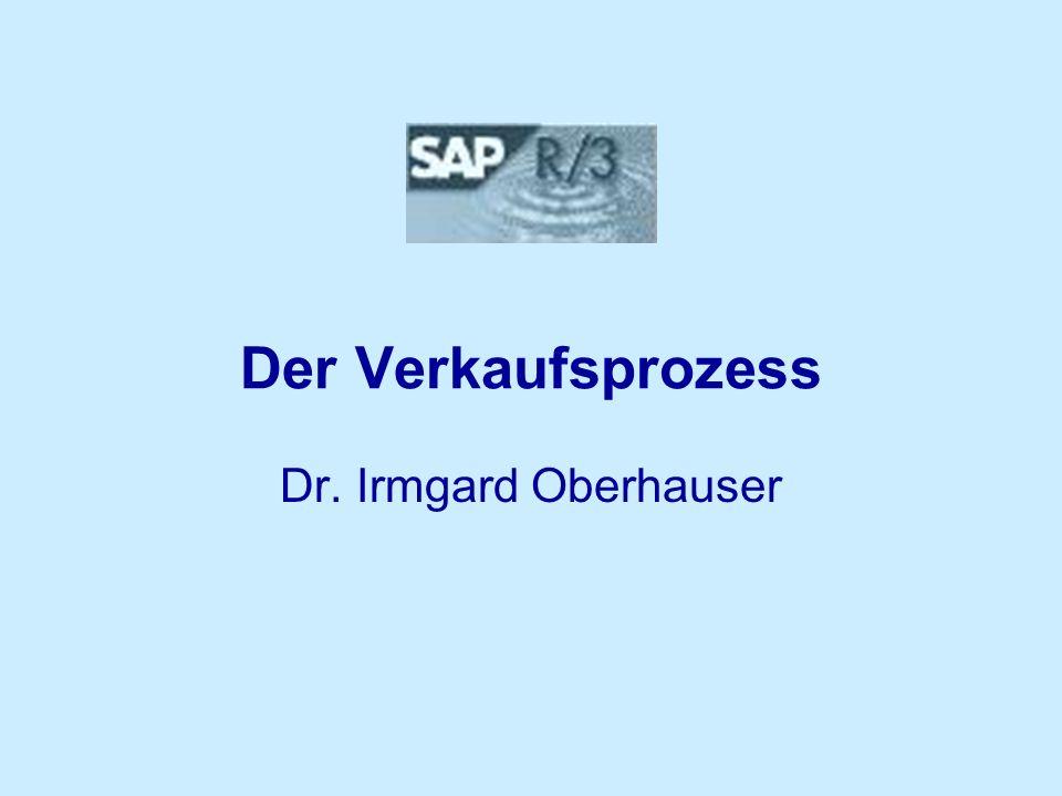 Der Verkaufsprozess Dr. Irmgard Oberhauser