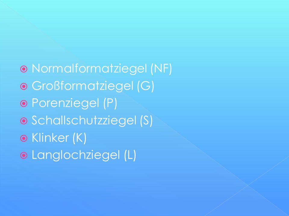 Normalformatziegel (NF)
