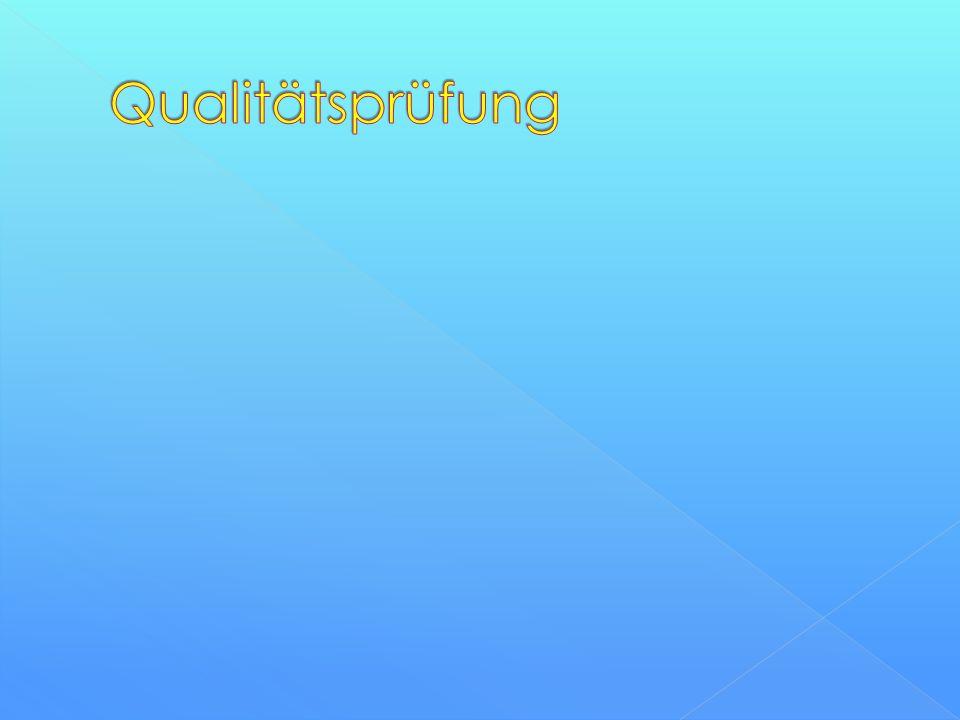Qualitätsprüfung