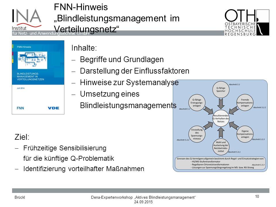 "FNN-Hinweis ""Blindleistungsmanagement im Verteilungsnetz"