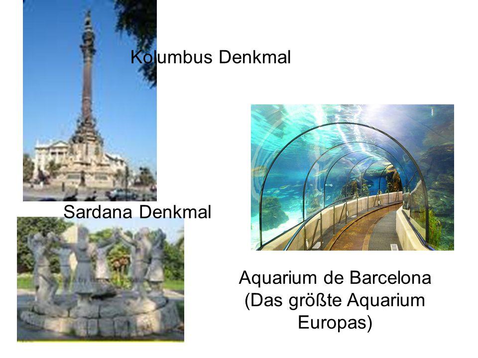 Aquarium de Barcelona (Das größte Aquarium Europas)