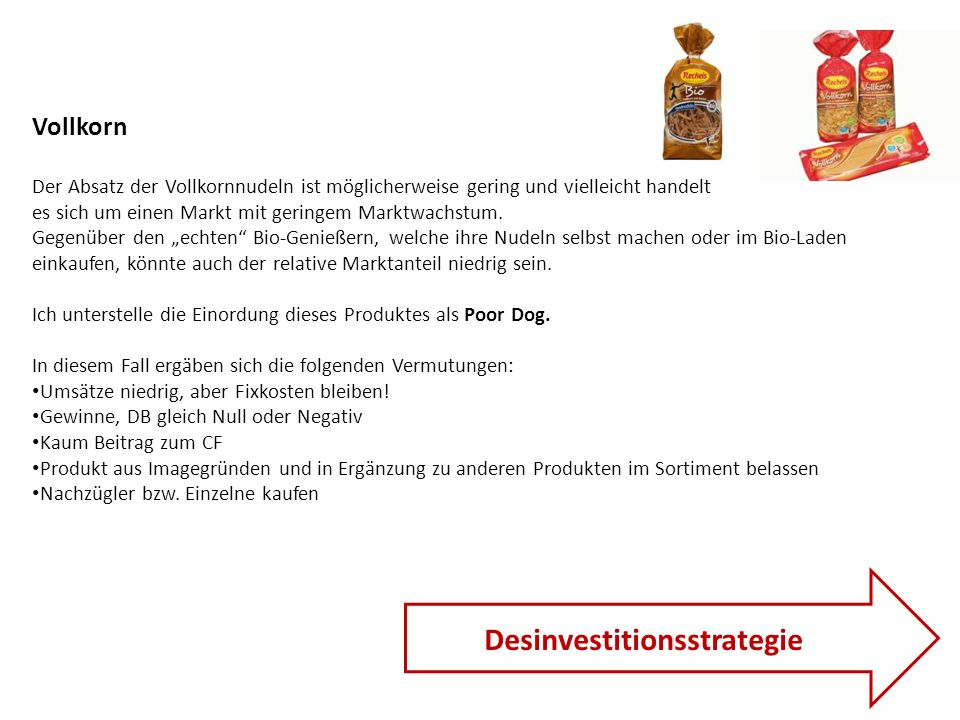 Desinvestitionsstrategie