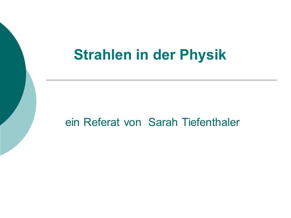 ein Referat von Sarah Tiefenthaler