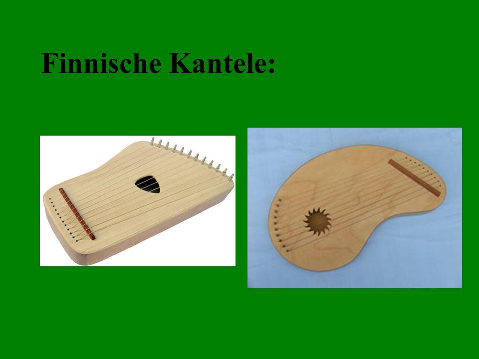 Finnische Kantele: