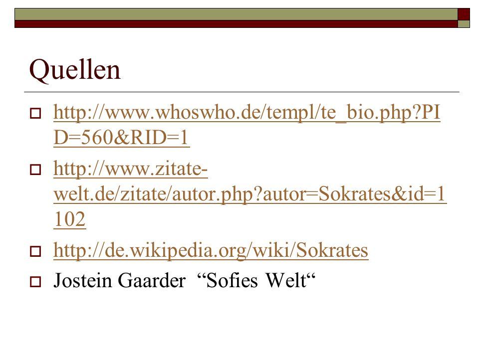 Quellen http://www.whoswho.de/templ/te_bio.php PID=560&RID=1