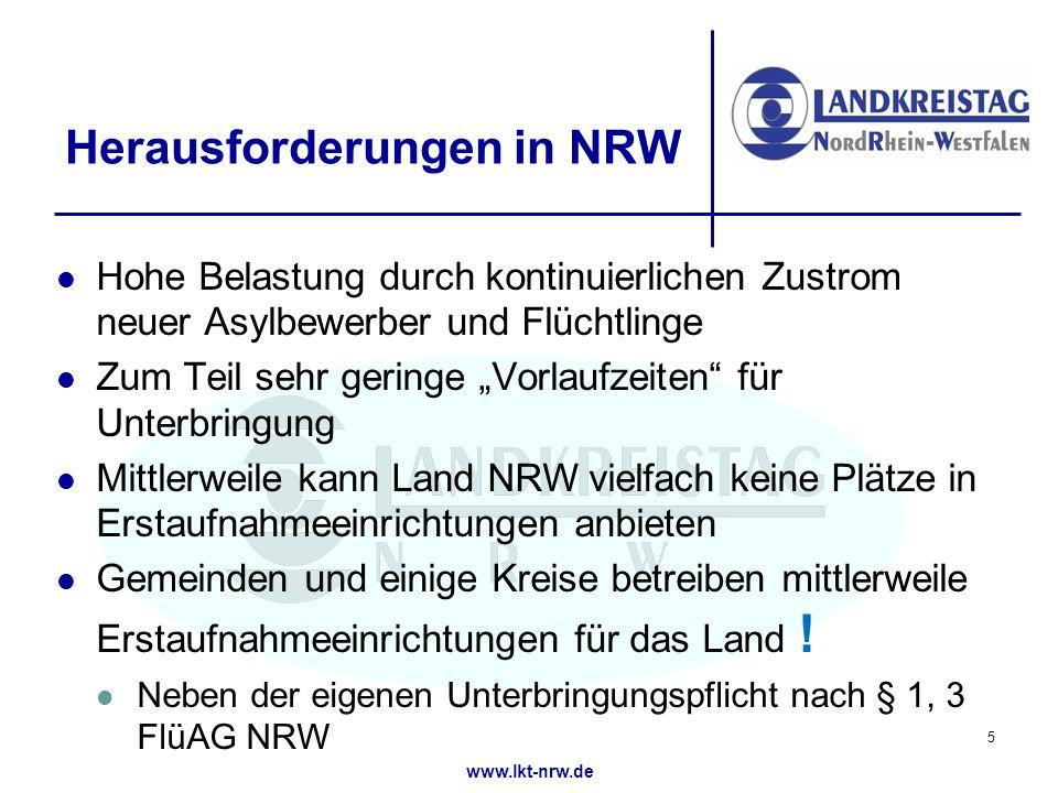 Herausforderungen in NRW