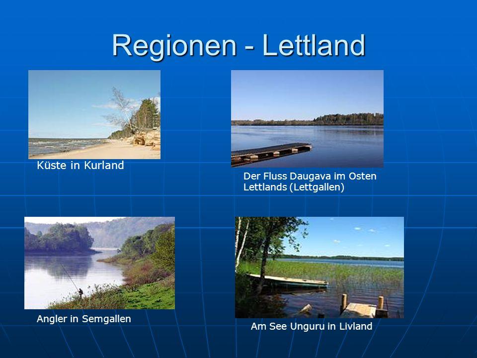Regionen - Lettland Küste in Kurland