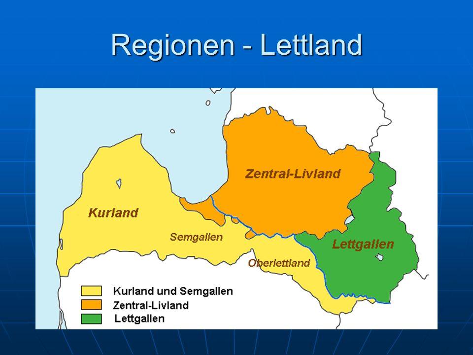 Regionen - Lettland